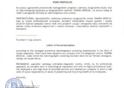 pismo-preporuke-letter-of-recommendation-delhaize